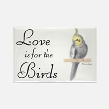 Love is for the Birds Rectangle Magnet