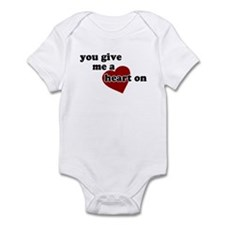 You give me a heart on Infant Creeper