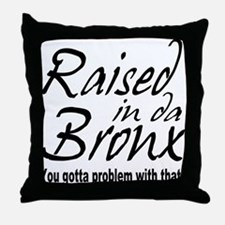 The Bronx,New York Throw Pillow