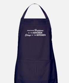 Whatever Happens - Kitchen Apron (dark)