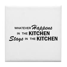Whatever Happens - Kitchen Tile Coaster