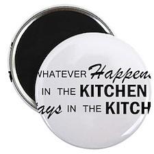 Whatever Happens - Kitchen Magnet