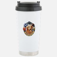 Air Bud Logo Stainless Steel Travel Mug