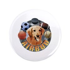 "Air Bud Logo 3.5"" Button (100 pack)"