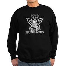 I Wear Grey for my Husband Sweatshirt