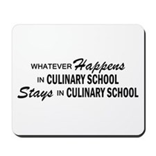 Whatever Happens - Culinary School Mousepad