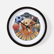Air Bud Football Wall Clock