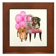 Cure Doxies Framed Tile