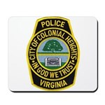 Colonial Heights Police Mousepad