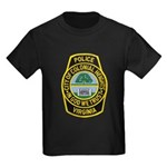 Colonial Heights Police Kids Dark T-Shirt