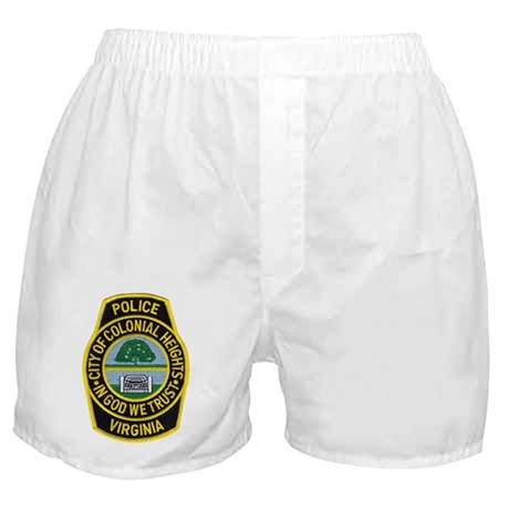 Colonial Heights Police Boxer Shorts