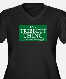 It's a Tribbett Thing Women's Plus Size V-Neck Dar