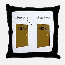 Cute Steward Throw Pillow