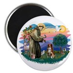 St Francis #2/ Aus Shep (red) Magnet