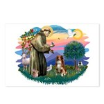 St Francis #2/ Aus Shep (red) Postcards (Package o