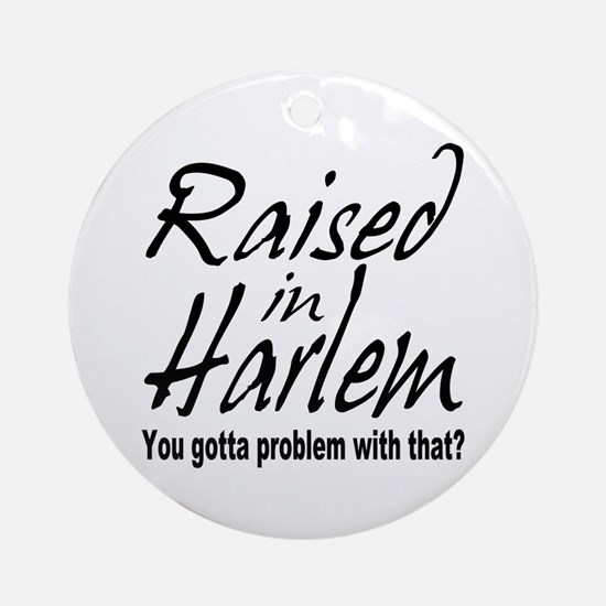 Harlem, new york Ornament (Round)