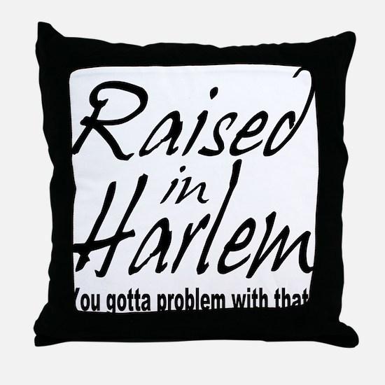 Harlem, new york Throw Pillow
