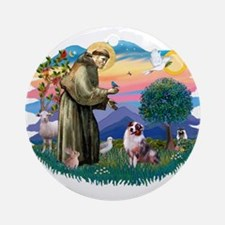 St Francis #2 / Ornament (Round)