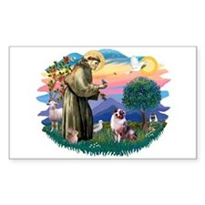St Francis #2/ Aus Shep (merle) Decal