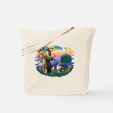St Francis #2/ Aus Shep (merle) Tote Bag