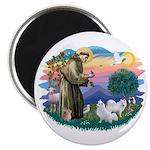 St Francis #2/ Am Eskimo (2) Magnet