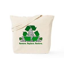 Cool Take back america Tote Bag