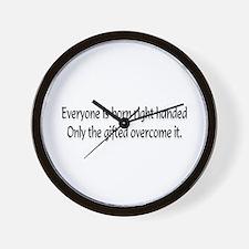 Everyone is born .... Wall Clock