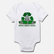 Funny Recycle congress Infant Bodysuit
