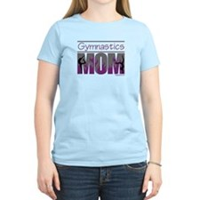 Gymnastics Mom - Purple Flames T-Shirt