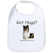 Got Hugs? Collie Bib