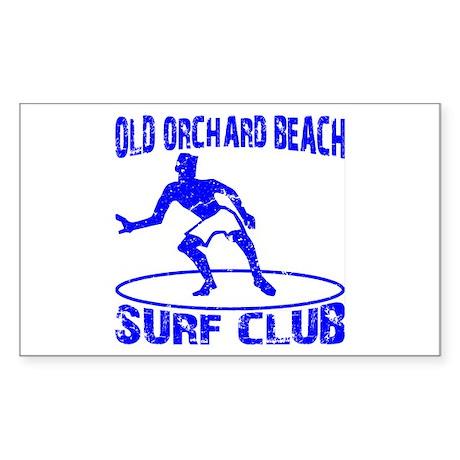 Surf Club Sticker (Rectangle)