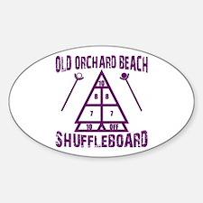 Shuffleboard Decal