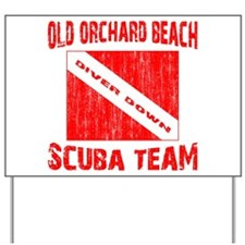 Scuba Team Yard Sign