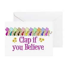 I Believe in Fairies Greeting Card