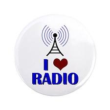 "I Love Radio 3.5"" Button"
