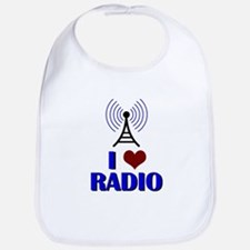 I Love Radio Bib