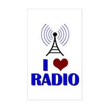 I Love Radio Decal