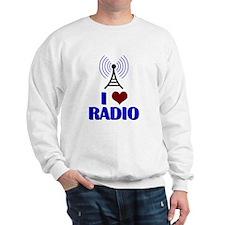 I Love Radio Sweatshirt