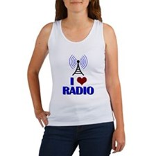 I Love Radio Women's Tank Top