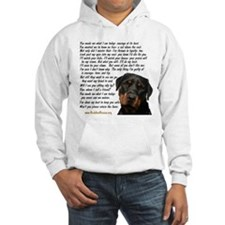 Only Thing, Rottweiler Hoodie