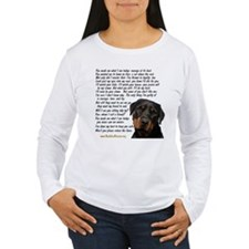 Only Thing, Rottweiler T-Shirt