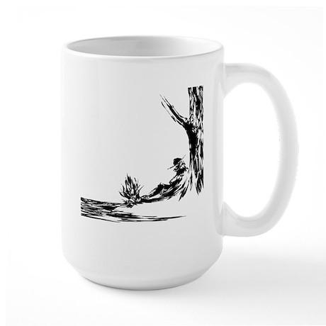 Mountain Man Large Mug
