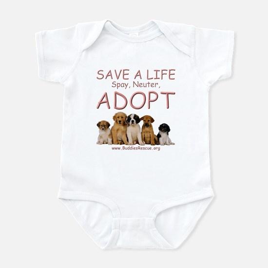 Spay Neuter Adopt - Infant Bodysuit