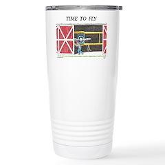 Time to Fly Travel Mug