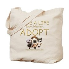 Spay Neuter Adopt - Tote Bag