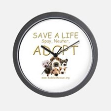 Spay Neuter Adopt - Wall Clock