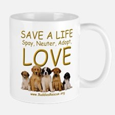 Spay Neuter Adopt - Mug