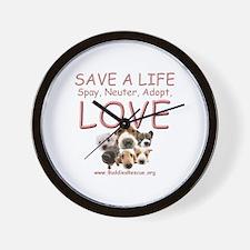 Spay Neuter Adopt - Wall Clock