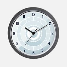Powder Blue Clock Wall Clock