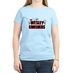 Wesley Crushers Women's Light T-Shirt - Be a part of the best bowling team for geeks - The Wesley Crushers! This merchandise will make a bang with your friends. A big one. In theory. - Availble Sizes:Small,Medium,Large,X-Large,2X-Large (+$3.00) - Availble Colors: Light Yellow,Light Pink,Light Blue
